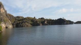 nyang ini gugusan pulau kecil disekitaran speed boat ngelaju